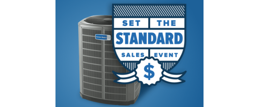 "Big Savings with the American Standard ""Set the Standard"" Sales Event"